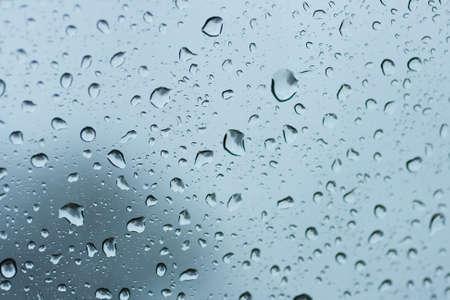 wasser: Water drops on car disc