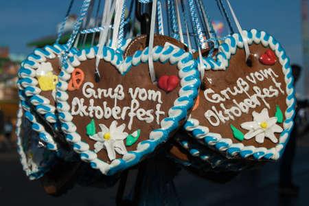 wiesn: heart at Oktoberfest