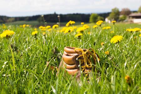 Hiking shoes in Bavaria