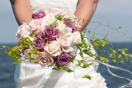 Bridal bouquet Stockfoto