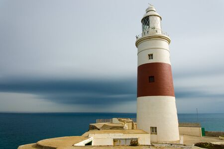 seasides: Europa Point, also called Great Europa Point  at Gibraltar