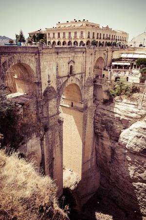 nuevo: Puente Nuevo  New Bridge  in Ronda, Spain Stock Photo