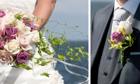 Details of a wedding