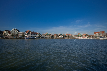 volendam: world famous in the Netherlands is the fishing village of Volendam