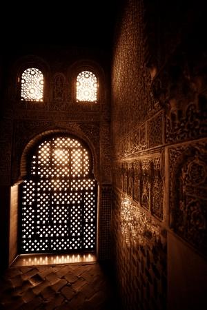 Alhambra, Granada, Spain Redactioneel