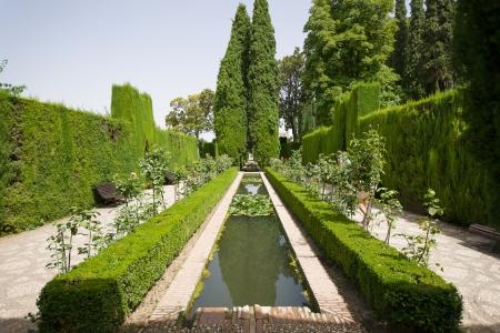 'Generalife' wordt vertaald als 'tuin van de architect'.
