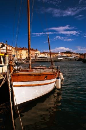 tropez: The bay of Saint Tropez Editorial