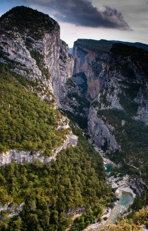 Les Gorges du Verdon, Provence, France photo
