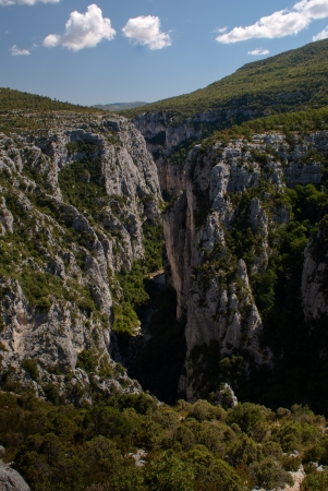 gorges: Gorges du Verdon (Provence - Alpes, France) Stock Photo