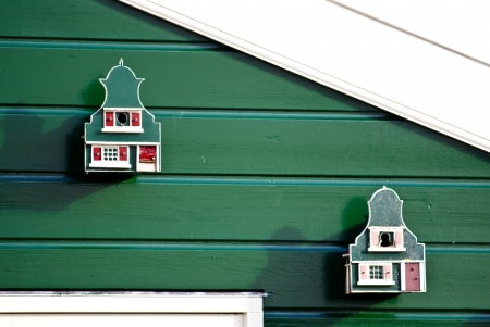 Birdhouses at the house photo