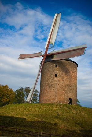 One of the oldest windmills in Europe photo