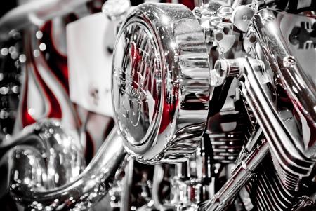 전시실에있는 오토바이 스톡 콘텐츠