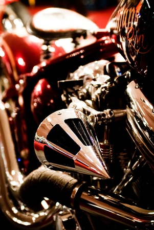 Motorcycle in showroom Stock Photo - 16275275