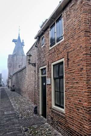 Elburg is a typical Dutch fortress town in the east of holland photo