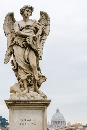 One of Bernini Angels on the ponte Sant photo