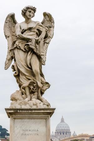 sudarium: One of Bernini Angels on the ponte Sant