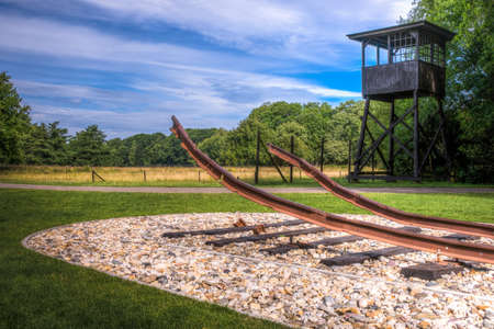 The Westerbork transit camp  Dutch  Kamp Westerbork, German  Durchgangslager Westerbork  was a World War II Nazi refugee, detention and transit camp in Hooghalen, ten kilometres north of Westerbork, in the northeastern Netherlands  Its function during the