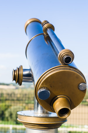 Typical France Tourist Binocular photo