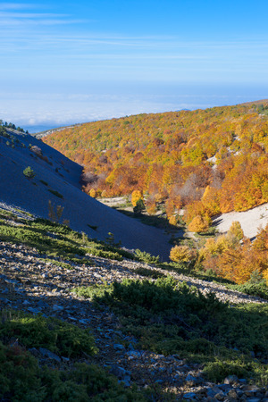 vaucluse: View from the Mount Ventoux, Vaucluse, France