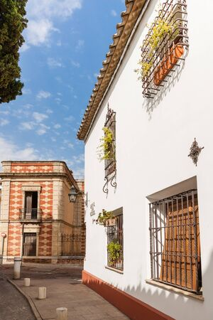 northern spain: The White Towns of Andalusia, or Pueblos Blancos, are a series of towns and large villages in the northern part of the provinces of Cadiz and Malaga in the southern Spain Stock Photo