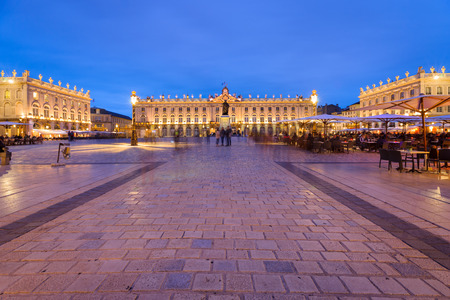 Located in the center of Nancy. The square is part of Unesco World Heritage and was developed in the eighteenth century. It has monument to golden gates and exceptional beautiful buildings such as the city hall 'Hôtel de Ville', the Museum of Fine Arts, t