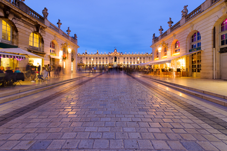 Located in the center of Nancy. The square is part of Unesco World Heritage and was developed in the eighteenth century. It has monument to golden gates and exceptional beautiful buildings such as the city hall Hôtel de Ville, the Museum of Fine Arts, t
