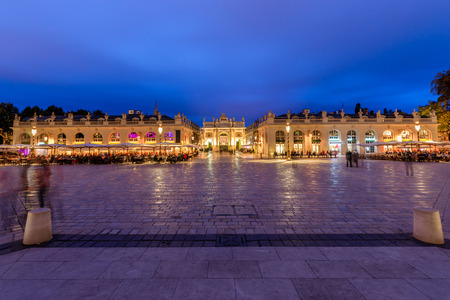 Located in the center of Nancy. The square is part of Unesco World Heritage and was developed in the eighteenth century. It has monument to golden gates and exceptional beautiful buildings such as the city hall H�tel de Ville, the Museum of Fine Arts, t
