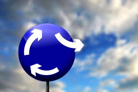 arrows Standard-Bild