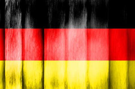 Deutschland - Textur Holzzaun
