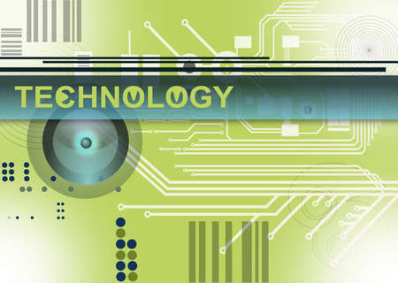 blau: Technology - Elektronik - Programmierung Stock Photo