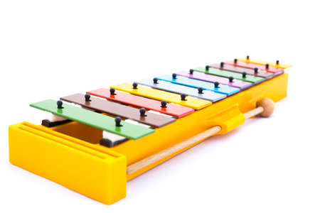 rhythmical: Colorful musical instrument for children; Xylophone