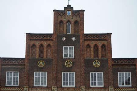 gable: Hanse region brick gable