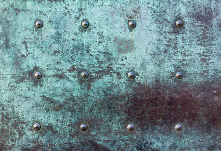 old vintage heavy iron door close up texture with patina and corrosion. backgrounds and .texture background textures surface. background wallpaper,