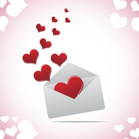 sent: Heart in envelope