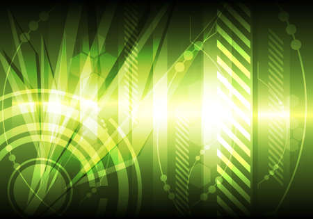 green abstract background Stock Vector - 12872648