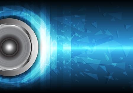 wavelength: poder del sonido Vectores