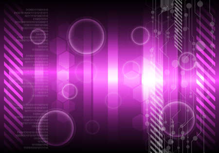 violet abstract background Stock Vector - 12872722