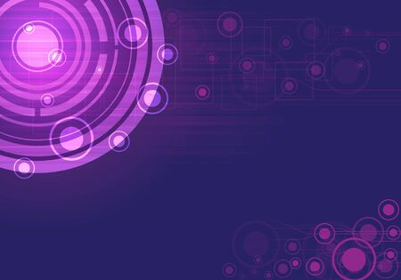 unit: purple vector abstract background  Illustration