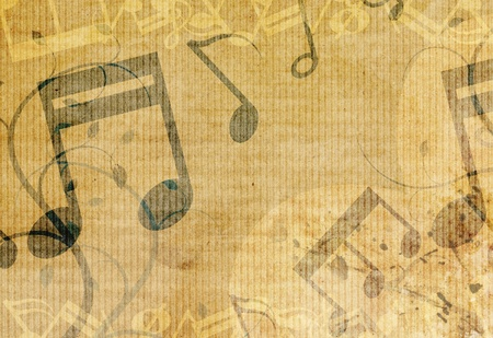 grunge music background design