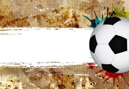 grungy football background Stock Photo - 13082015