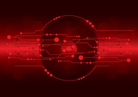 cd-dvd on dark red digital background Vector