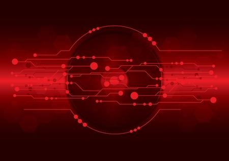digital music: cd-dvd on dark red digital background