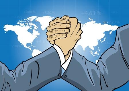 economische concurrentie op mondiaal niveau