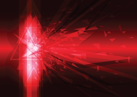 explosion abstract background Stock Vector - 13177421