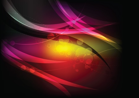 mirage: colorful abstract background