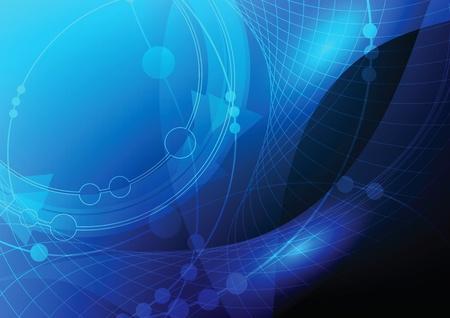espejismo: oscuro fondo azul abstracto