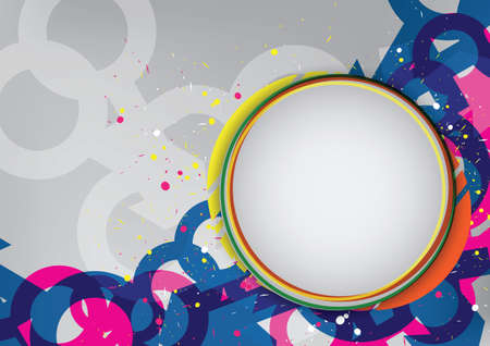 abstract layout design Vector
