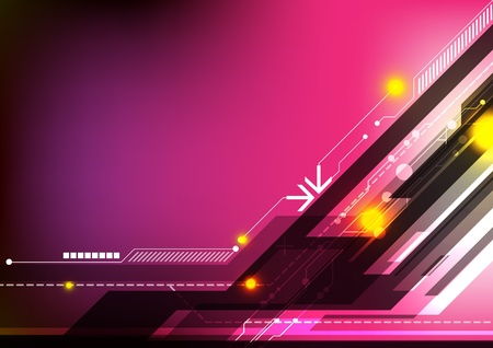 multimedia background: abstract design technology background