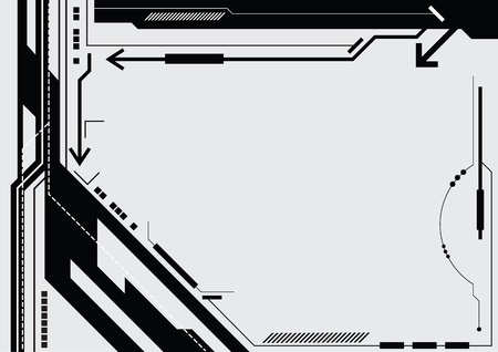 mirage: abstract design Illustration