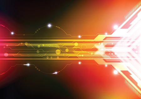 multimedia background: abstract technology background